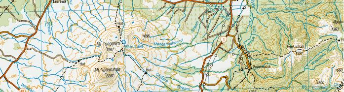 New Zealand Topo Maps,
